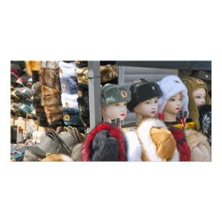 Souvenir Shop in Berlin Photo Card