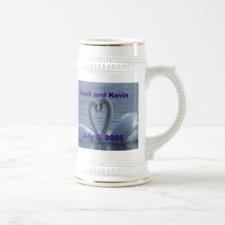 Souvenir Stein de mariage Tasse À Café