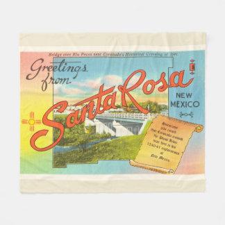 Souvenir vintage de voyage de Santa Rosa Nouveau