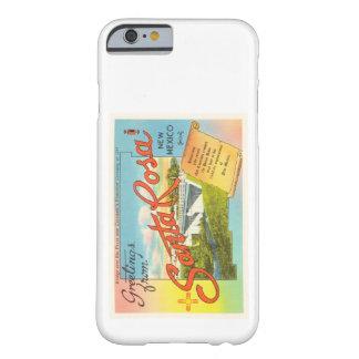 Souvenir vintage de voyage de Santa Rosa Nouveau Coque Barely There iPhone 6