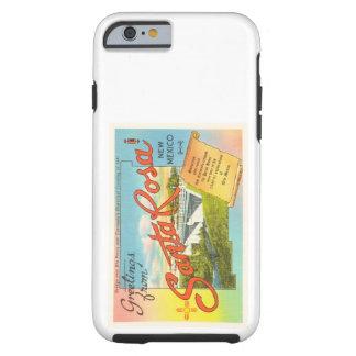 Souvenir vintage de voyage de Santa Rosa Nouveau Coque Tough iPhone 6