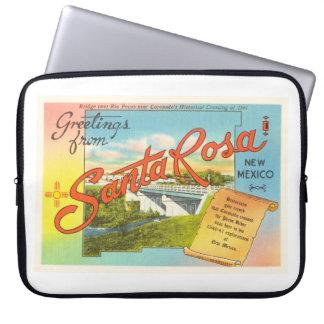 Souvenir vintage de voyage de Santa Rosa Nouveau Housses Ordinateur Portable