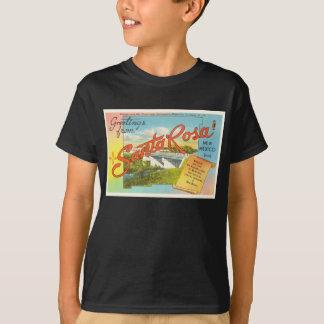 Souvenir vintage de voyage de Santa Rosa Nouveau T-shirt