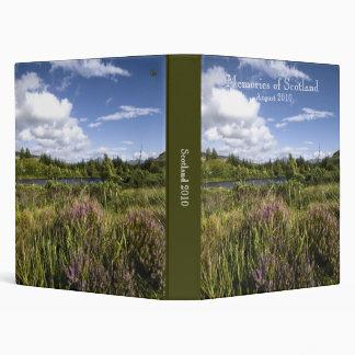 Souvenirs de l'Ecosse · Livre de photo Classeur Vinyle