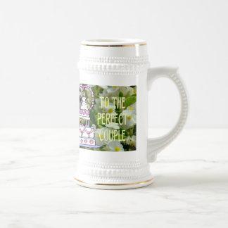 Souvenirs de mariage ; Aux couples parfaits Mugs À Café