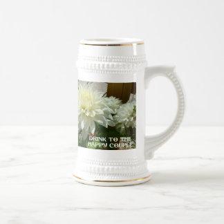 Souvenirs de mariage ; Boisson aux couples heureux Tasse À Café