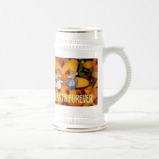 Souvenirs de mariage ; L'amour dure jamais Chope À Bière