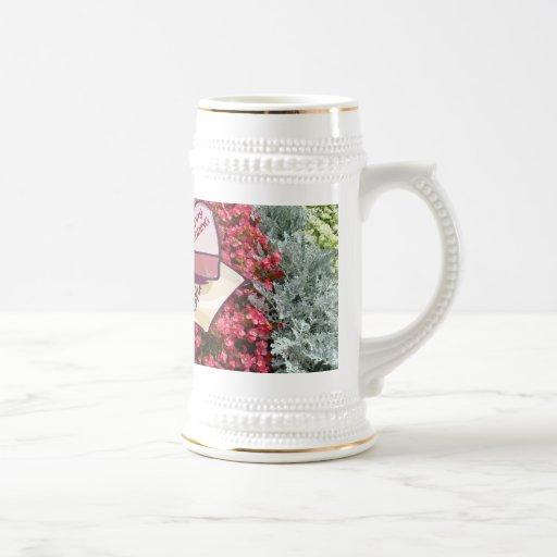 Souvenirs de mariage ; Mariage heureux Mug À Café