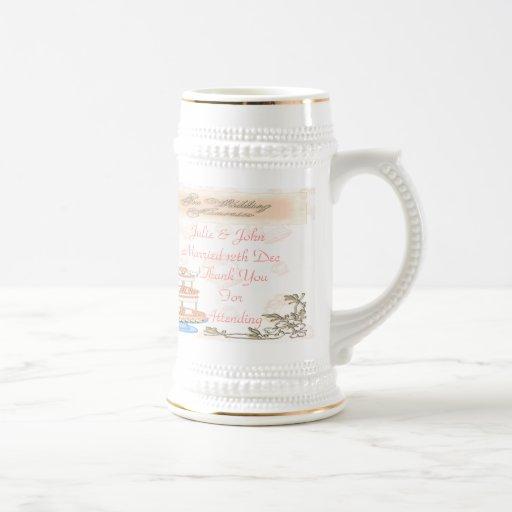 Souvenirs de mariage mug
