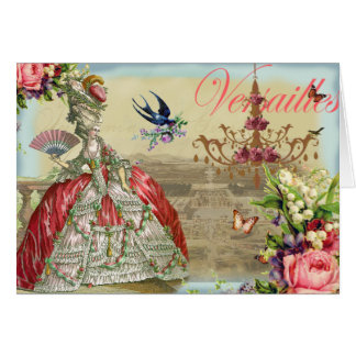 Souvenirs de Versailles Card