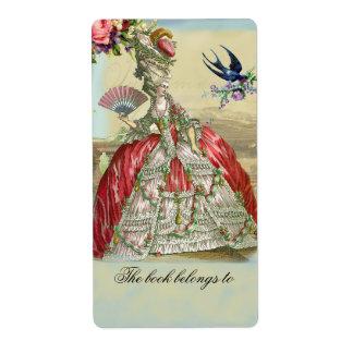 Souvenirs de Versailles Shipping Label