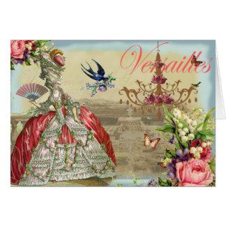 Souvenirs de Versailles Thank you Card