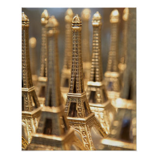 Souvenirs of Eiffel Tower Poster