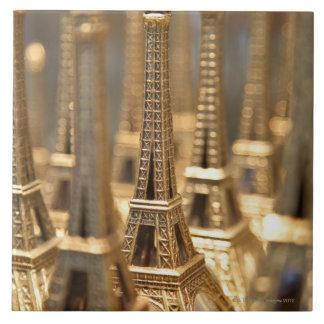 Souvenirs of Eiffel Tower Tile