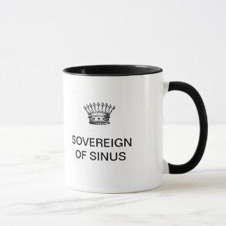 SOVEREIGN OF SINUS COFFEE MUG