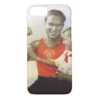 Soviet Athlete iPhone 7 Case