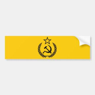 Soviet Crest And Sickle Bumper Sticker