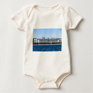 Soviet-era office building baby bodysuit
