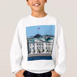 Soviet-era office building sweatshirt