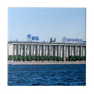 Soviet-era office building tile