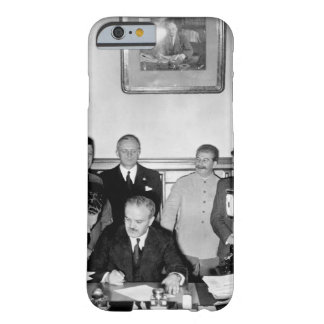 Soviet Foreign Minister Molotov signs_War image Barely There iPhone 6 Case
