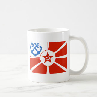 Soviet Navel Flag Coffee Mug