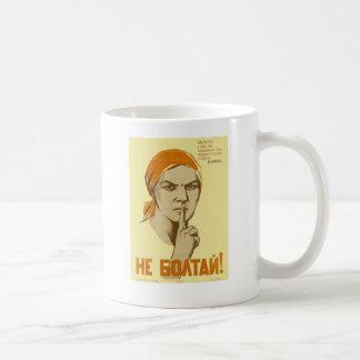 Soviet Propaganda Coffee Mug