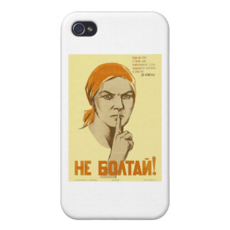 Soviet Propaganda iPhone 4/4S Cover