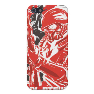 soviet propaganda iPhone 5 cases