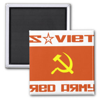 Soviet Red Army Hammer & Sickle Magnet