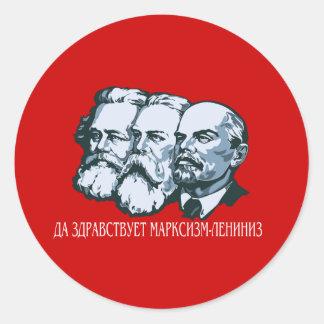 Soviet Round Stickers
