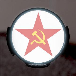 Soviet Star LED Auto Decal
