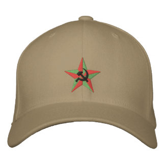 Soviet Star- Hammer and Sickle Embroidered Hat