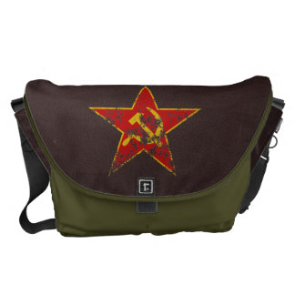 Soviet Star Vintage Courier Bags