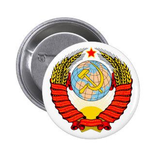 Soviet Union Emblem with CCCP Pins