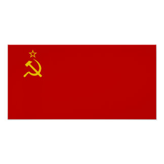 Soviet Union Flag Poster