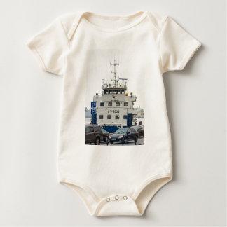 Soviet Union Ship Baby Bodysuit