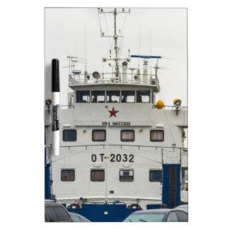 Soviet Union Ship Dry Erase Board