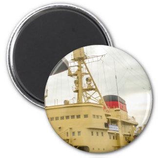 Soviet Union Ship Museum 2 Inch Round Magnet