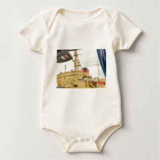 Soviet Union Ship Museum Baby Bodysuit