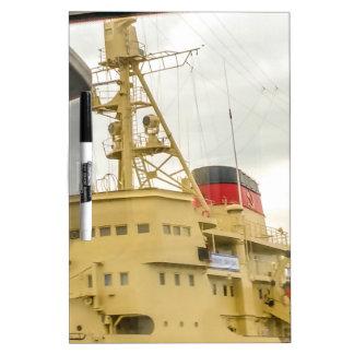 Soviet Union Ship Museum Dry Erase Board