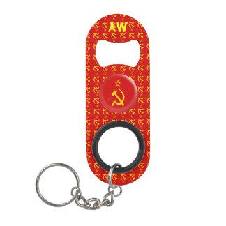Soviet Union - USSR  Flag Keychain Bottle Opener