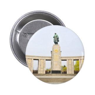 Soviet War Memorial in Berlin, Germany 2 Inch Round Button