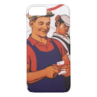 Soviet Worker iPhone 7 Case