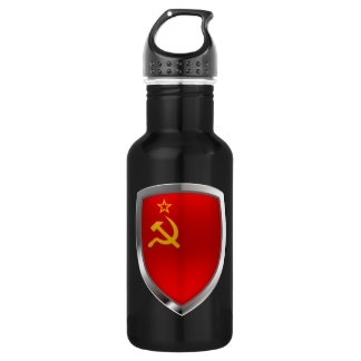 Sovietic Union Mettalic Emblem 532 Ml Water Bottle