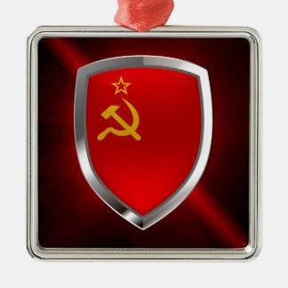 Sovietic Union Mettalic Emblem Metal Ornament