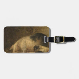 Sow and Piglets in a Sty by George Morland Bag Tag