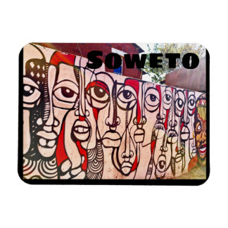 Soweto Art South Africa Magnet