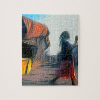 Soweto Johannesburg South Africa - Abstract oil pa Jigsaw Puzzle