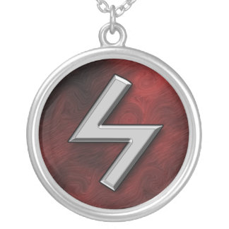 Sowilo Silver Plated Necklace